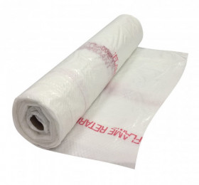 40' x 100' Polyethylene String Reinforced Fire Rated