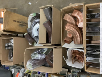 Misc. Downspout parts~ Copper, Aluminum & Stainless