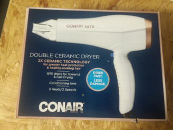 Conair Ceramic Electric Hair Dryer heat application or vehicle decal removal