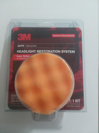 3M Headlight Auto Body Surface Buffer Cleaner tool for power drill