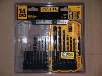 DeWalt 14 piece Black & Gold drill set