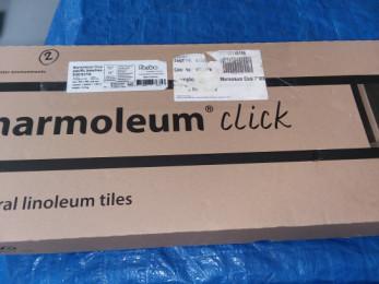 Marmoleum click cinch loc natural linoleum tiles